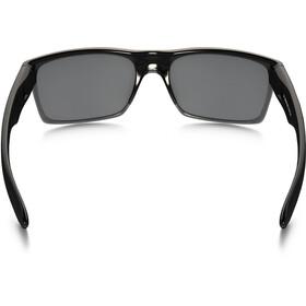 Oakley TwoFace Sunglasses Polished Black/Black Iridium